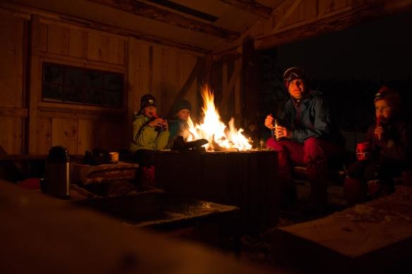 Kveldstur på ski med middag